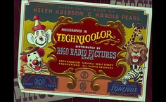 clown circus 50s vintage title end credit card dumbo disney