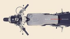 The Venice SR500 | Deus America #motor #design #custom #racer #cafe #bike #poster #typo