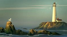 tower+copy.jpg (Image JPEG, 765x430 pixels) #illustration #lighthouse #vintage
