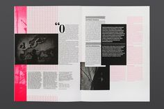 Festivais GIL VICENTE 2012 on the Behance Network #pink #layout #typography