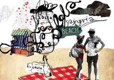Sangría Lolea Art by Milena Michalowska