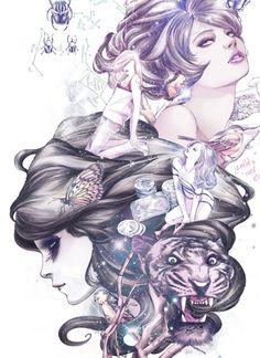 Tumblr #illustration #darkness #art #beauty
