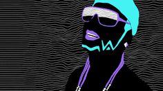 Riff Raff Music Video Daniel Renda #illustration #riff #raff