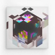 Geometric form / Cube #geometry #square #random #barcelona #davidrico #geometryart #illustration