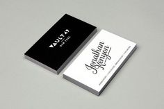 Vault 49 business card #design #graphic #typography