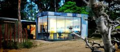 The Studio / Branch Studio Architects #woods #office #glass #architecture #cabin #metal