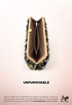 Strip: Unfurgivable #vagina #waxing #suggestive #advertising