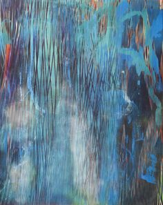 Chris Trueman | PICDIT #abstract #design #art #painting #blue #colour