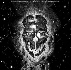 Nicolas Delort - Illustration - Main Gallery #skull #nicolas #dishonoured #delort