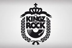 my KINGZ (of) ROCK on the Behance Network #logo #5ive