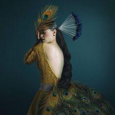 Surreal and Fine Art Self Portraits by Josephine Cardin