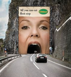 Creative Billboard Ads | InspireFirst #creative #billboard #print #advertising #outdoor