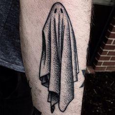 Healed ghost by Mike Adams #tatoos #ghost