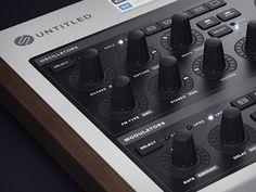 Synth desktop hardware wip01 #music