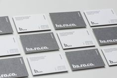 ba.ro.co. #packaging #typography