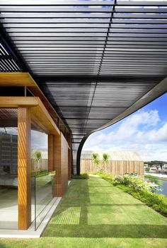 CJWHO ™ (Unique Sloping Roof Garden + Meera Sky Garden...) #design #roof #architecture #garden #singapore #green
