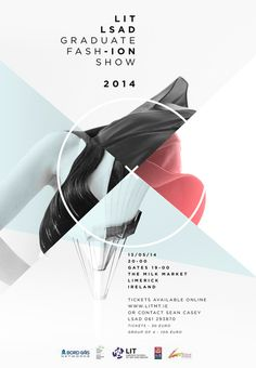 LIT LSAD Fashion Graduate Show 2014 #fashion #design #graphic #poster