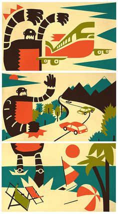 undefined #iv orlov #robot #illustration