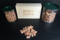 Eco-bricks 100% Compatible Wooden Bricks