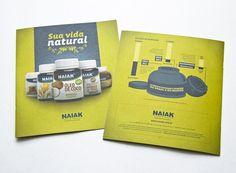 Naiak Alimentos Funcionais | fullDesign Comunicação Integrada | Agência de publicidade e propaganda em Brasília - DF #naiak #print #infographic #medicine #food #natural #nature #description #green