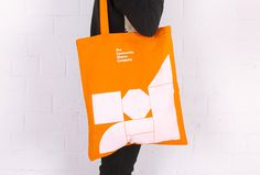 The Community Shares Company by Fieldwork #graphic design #print #colourful #shapes #bag