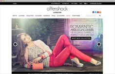 A feature rich #Magento eCommerce website with #creative design.