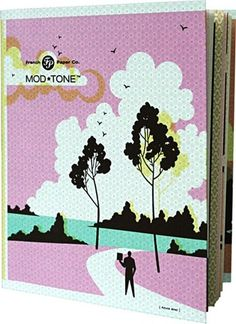 FFFFOUND! | charles s. anderson design co. | Mod-Tone Brochure #illustration