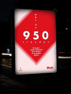 La marca Muác anima a los murcianos a comprar en su barrio | Murcia Visual #red #sublima #shop #muac #poster #murcia