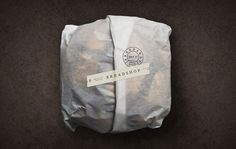 Scott Naauao #packing #packaging #design #food #logo #paper #bread #typography