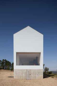 Fonte Boa House by João Mendes Ribeiro Arquitecto, Lda. #house #joaomendesribeiroarquitectolda #architecture #minimalism