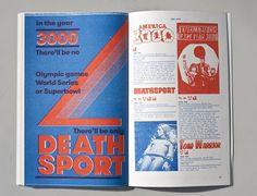Noël Leu #swiss #book #risograph #editorial #typography