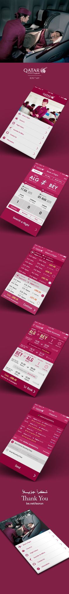 Flight Search App IOS 7 on Behance