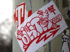 All sizes | Birita | Flickr - Photo Sharing! #haag #ticker #streetsticker #streetart #sim #akbar #birita #den