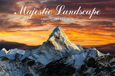 Majestic Landscape Lightroom Presets |Landscape Presets for Lightroom