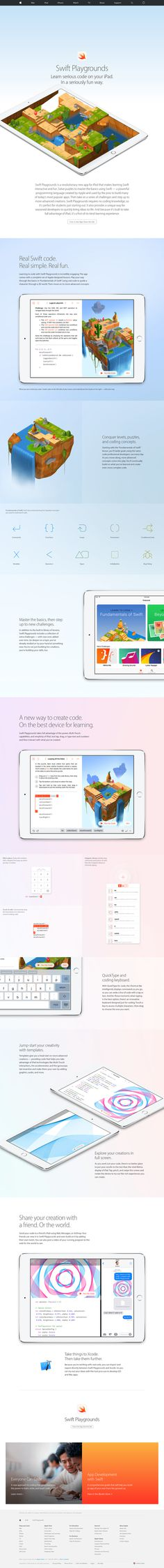 Swift Playgrounds - Preview - Apple