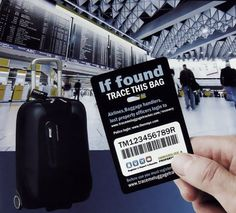 Trace Me Luggage Tracker Tag #tech #flow #gadget #gift #ideas #cool