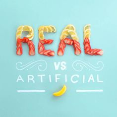 Real Vs Artificial
