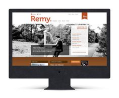 Website Remy van Kesteren (The Ad Agency, www.theadagency.nl) #agency #the #website #ad #webdesign #music