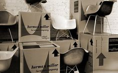 Eames History - Eames Office #packaging #chair #eames