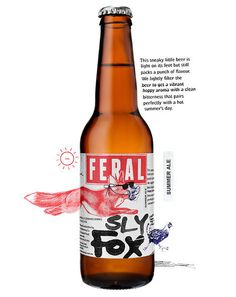 Feral Sly Fox Bottle #campaign #beer