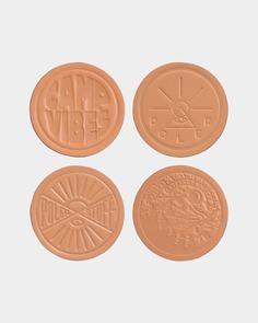 Poler Leather Coasters – Concrete Lodge