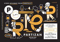 Partizan Brewing Porter G000 095 #brewery #partizan
