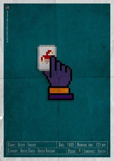 H-and Movie #movie #superhero #and #napier #design #gerald #jack #vintage #poster #web #bear #hand #action