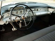 Buick roadmaster, dashboard, vintage car photography