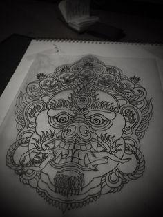 GUY LE TATOOER #illustration #tattoo #ink #flash