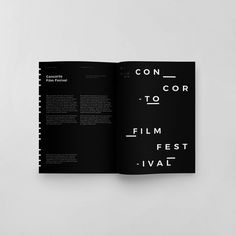 Concorto Film Festival 2016 on Behance