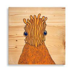 30x30cm Tahta üzerine boyama. #wood #illustration #painting
