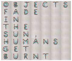 OCTOSUN #ok #sun #fade #go #human #video #music #object #feet #typography