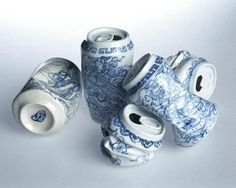 FFFFOUND! | Found Shit : Funny, Bizarre, Amazing Pictures & Videos #china #porcelain #cans