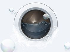 Phlooph #washing #circle #illustration #machine